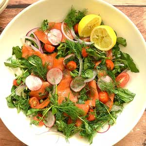 Super Easy, Super Healthy Salmon Salad