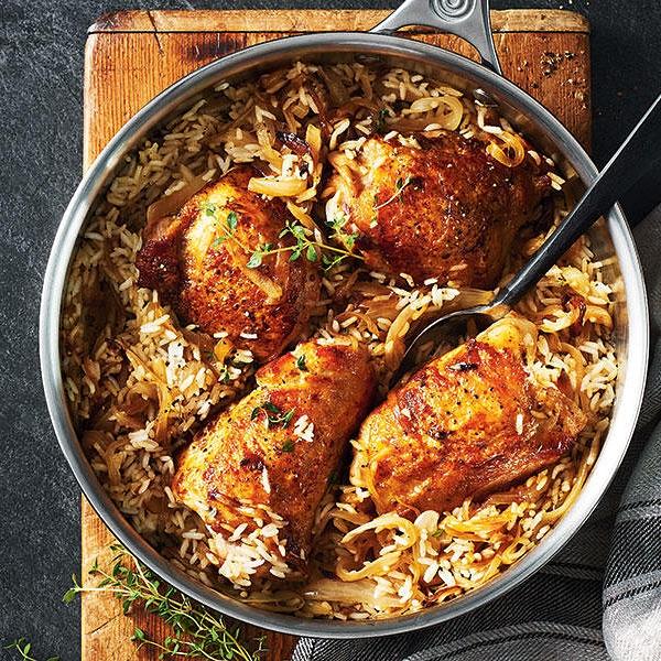 5 Ingredient Chicken,Rice &Thyme Biryani by Chef Mike Ward