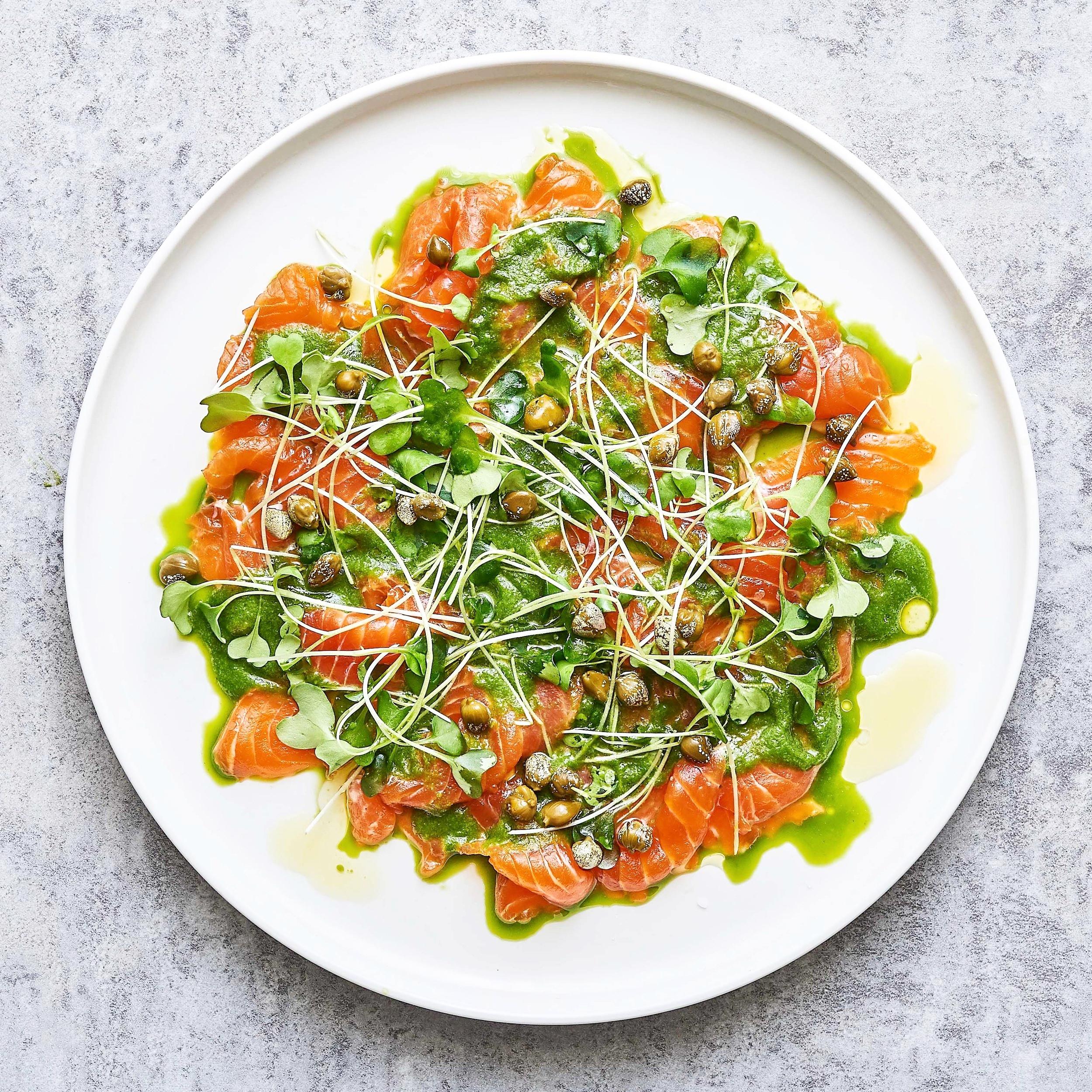 Salmon Aguachili by Chef Mike Ward
