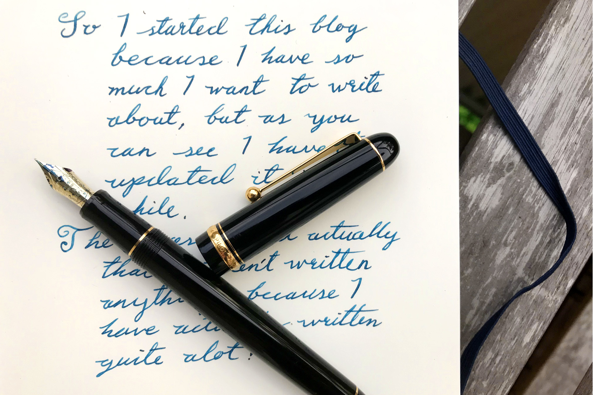 Pilot Custom 74 with Robert Oster Fire & Ice.