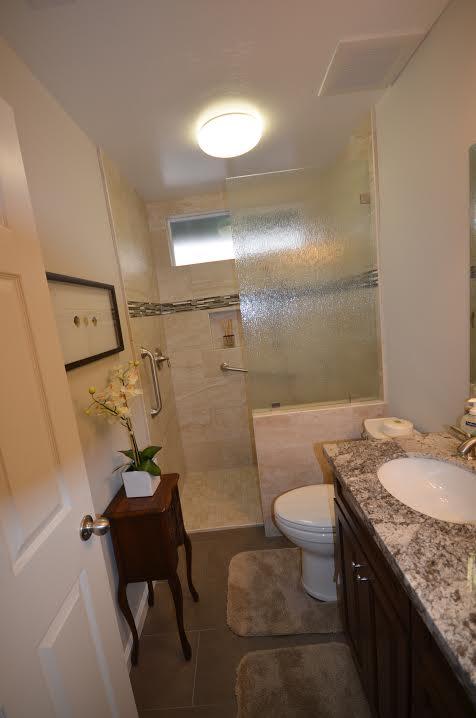 remodeling a smaller bathroom