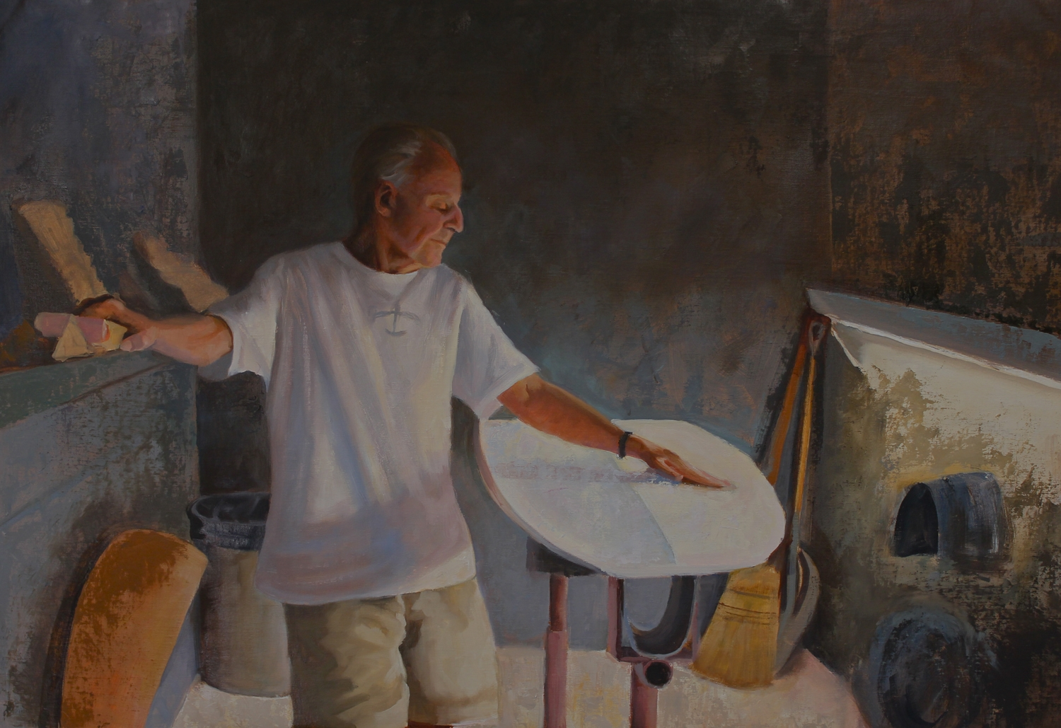 Reynolds Yater, oil on canvas, 24x36