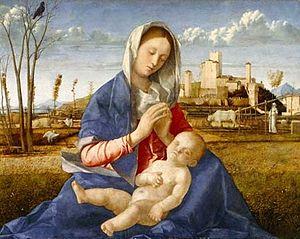 Madonna del Prato by Giovanni Bellini