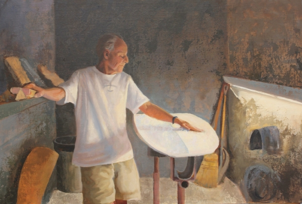 Reynolds Yater, oil on canvas 24x36 By Holli Harmon