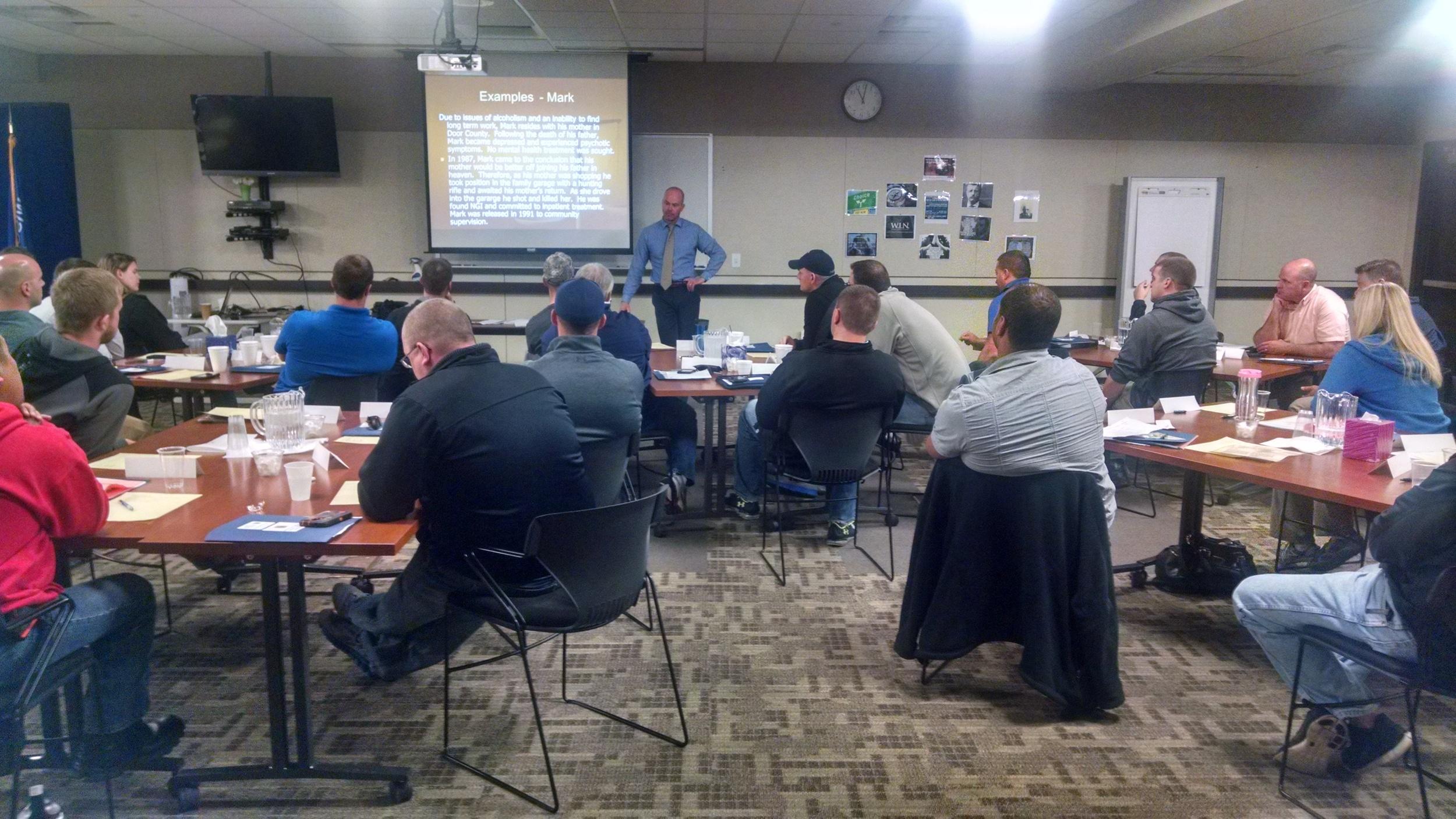 Fox Valley CIT Training October 2015- Legal Update