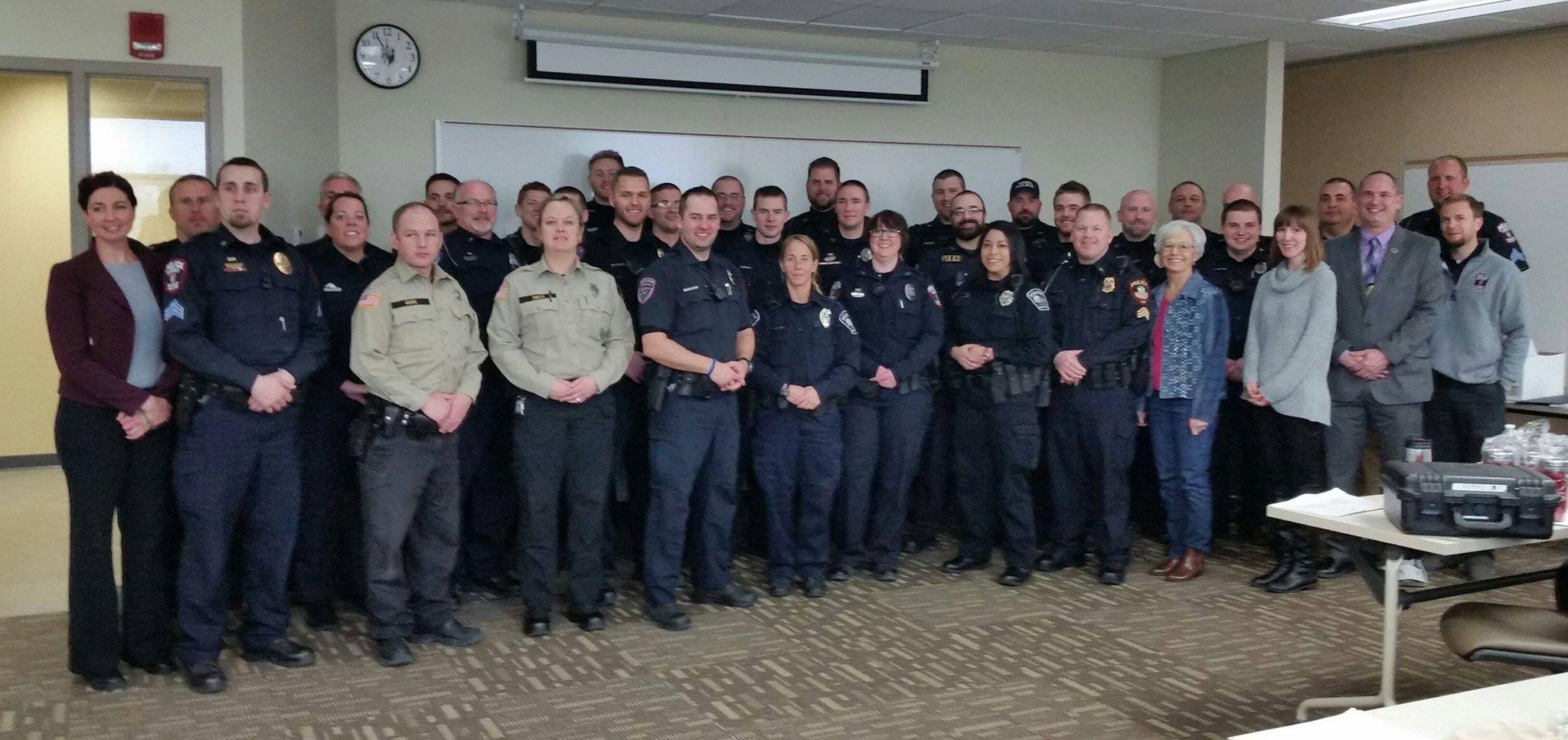 NAMI Dane  County & University of Wisconsin- Police Dept. CIT Training, Feb 2016