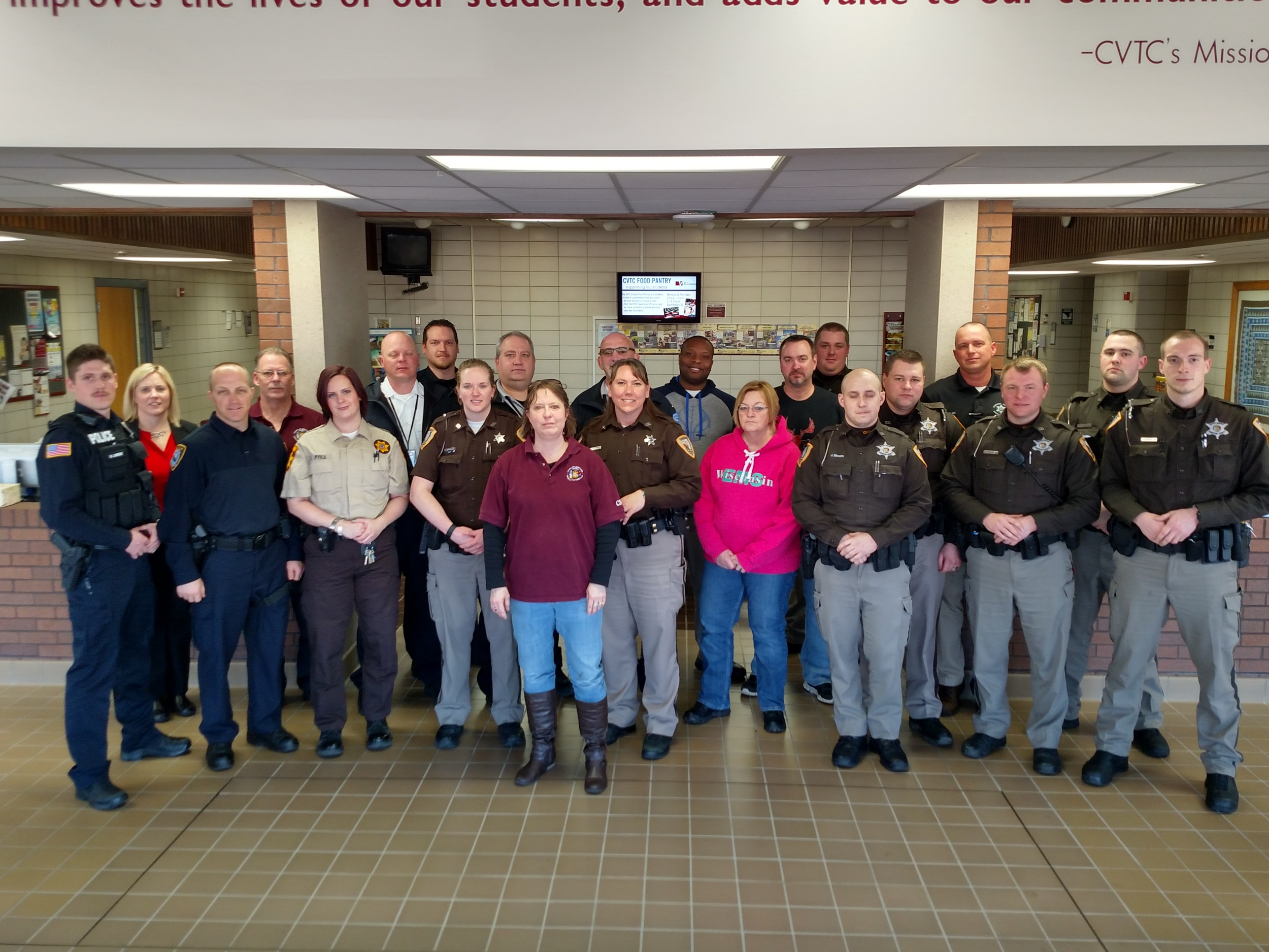 Chippewa Co. first CIT Training, March 2016