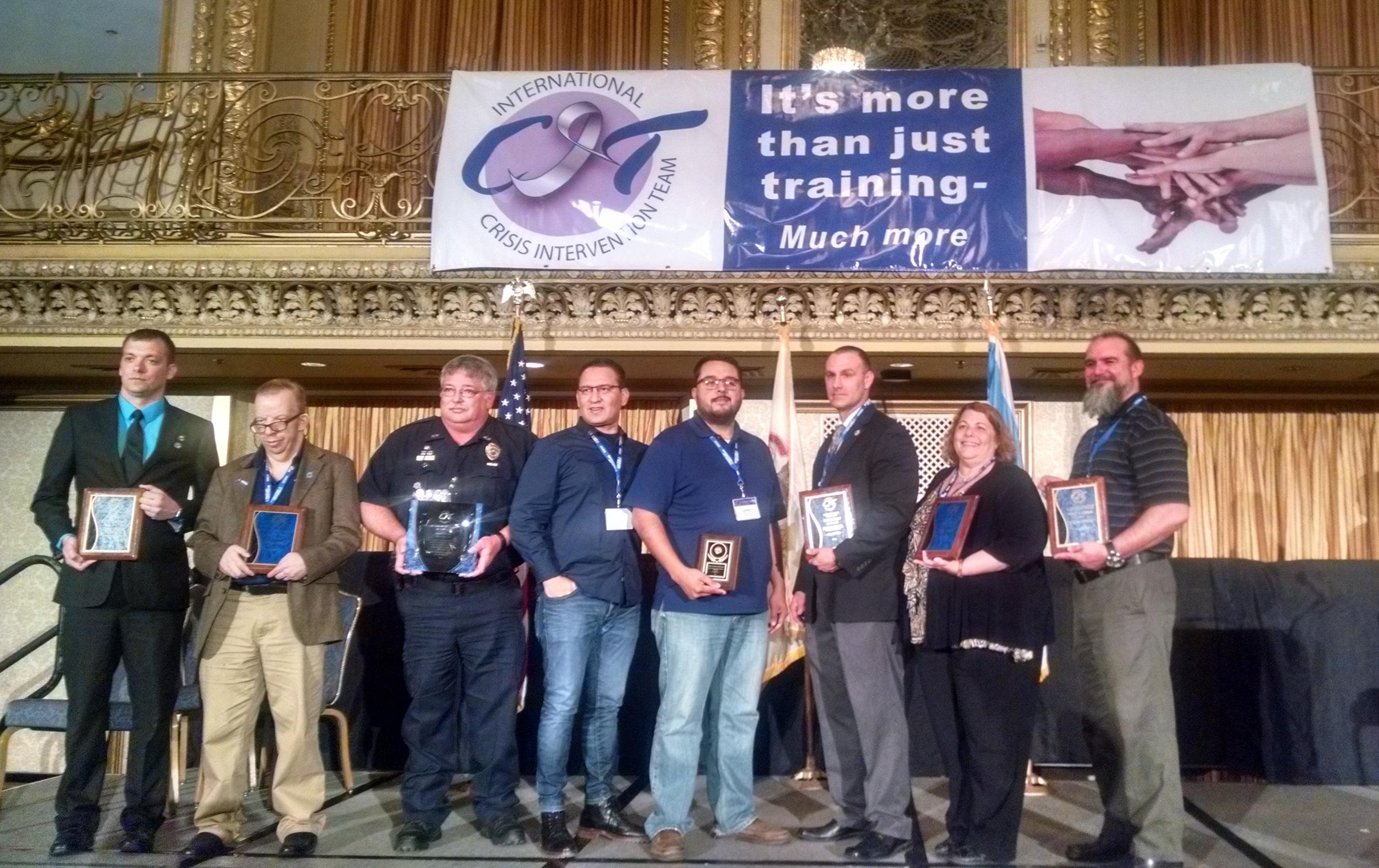 CIT International Conf. Award Recipients April, 2016