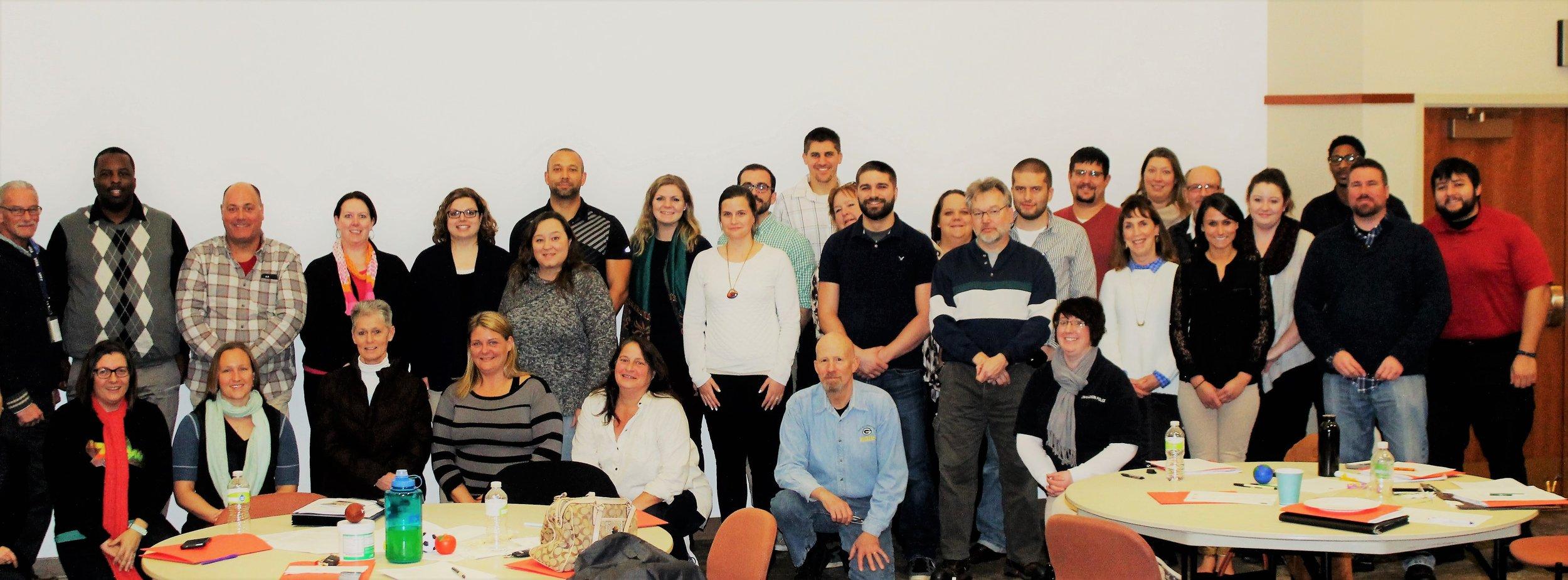 NAMI Dane, UW-Madison & Attic Corrections CIP Training. Dec. 2016