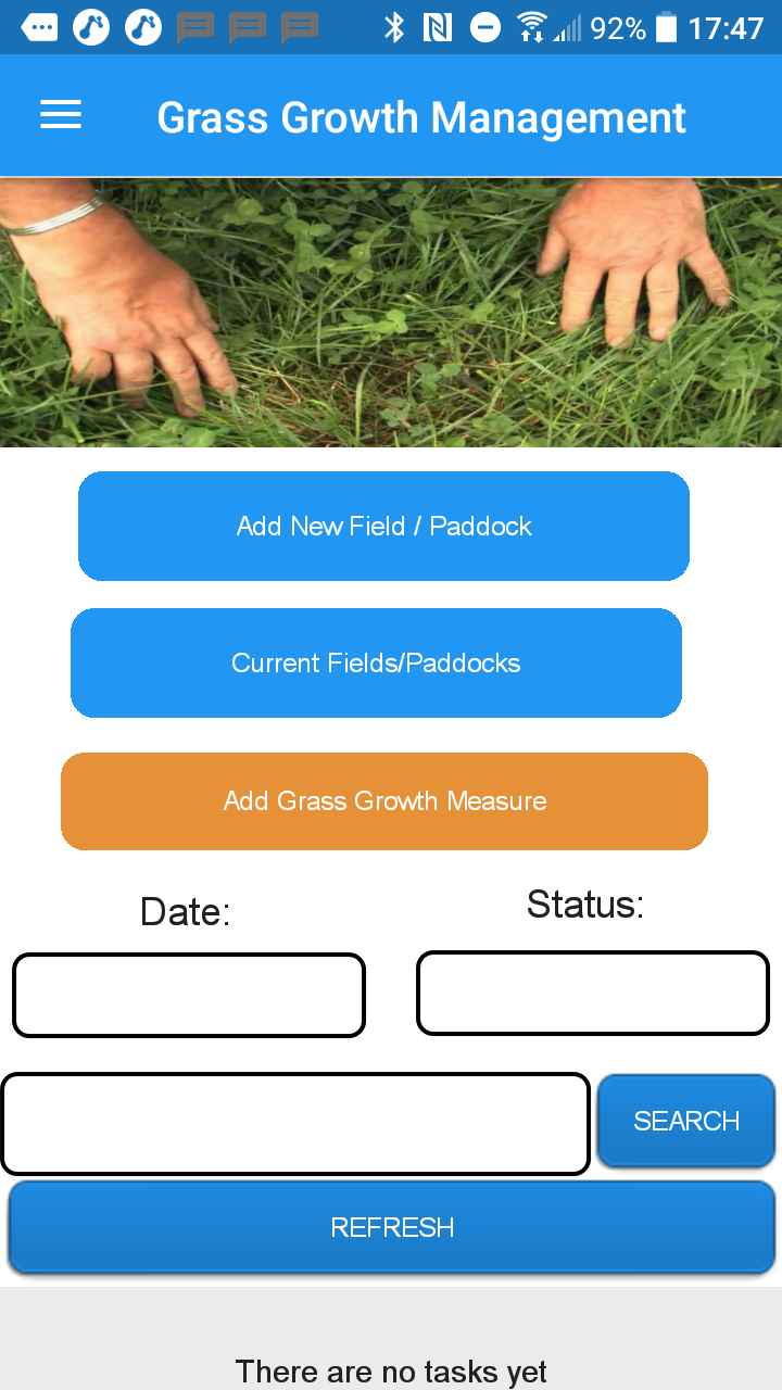 Grass Measuring