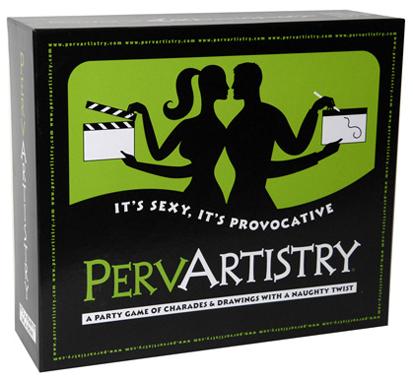 PervArtistry Board Game