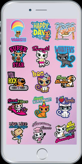 Cheeky Chats Cat Emoji App