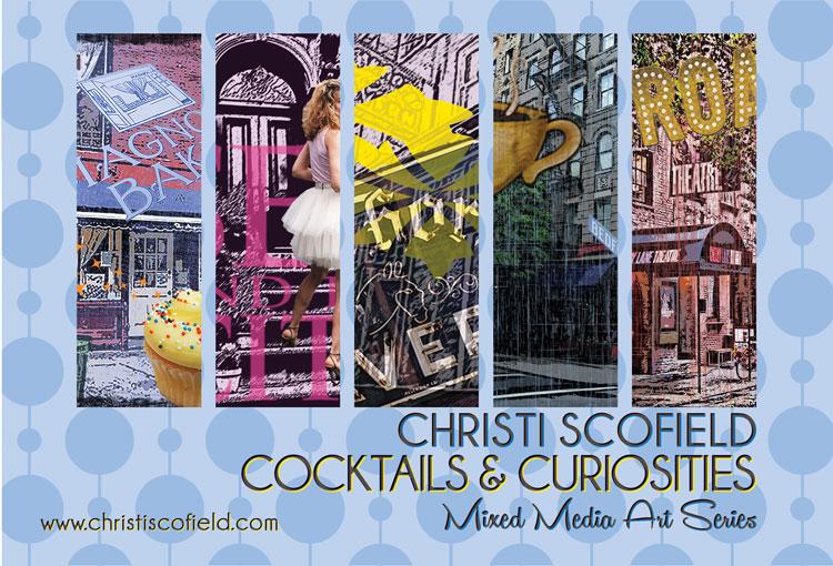 Christi Scofield Cocktails and Curiosities Art
