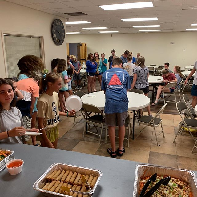 The Point last night was a great time! Thai food, great worship, a lesson on dating, and a good game of bench ball. If you missed it, join us this Sunday evening 5-7:30!