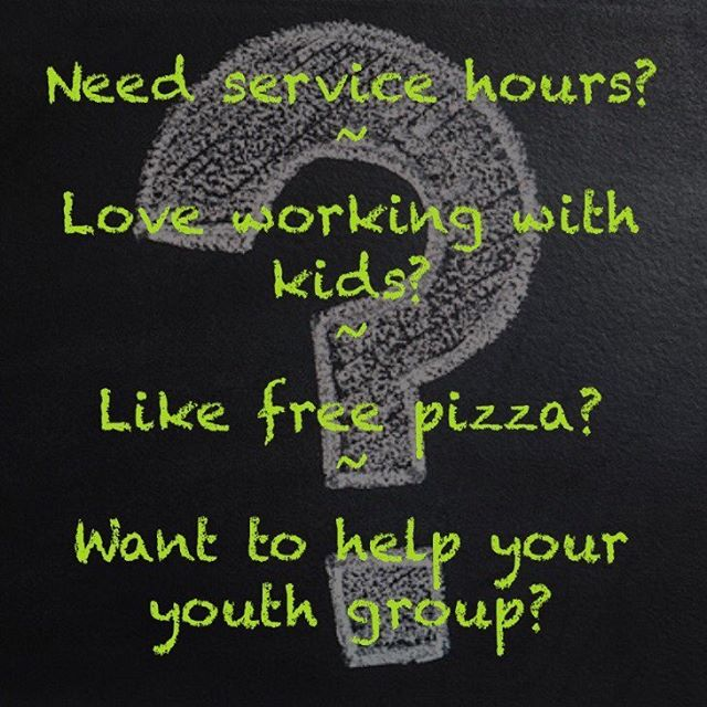 If you answered yes to any of these questions, then you're in luck! We're having a Kids' Night Out fundraiser this Friday from 5:30-8pm, and we need your help! Sign up as a volunteer and get more info at thepointstudents.com