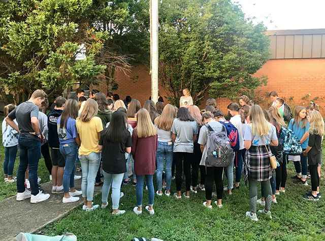 I'm so encouraged to see students who are willing to show up and pray for God's presence and power in their lives and schools. Keep stepping up, leading your peers, and going to God on behalf of others! #godissogood #if #syatp