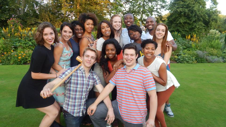 with other students in Oxford this summer