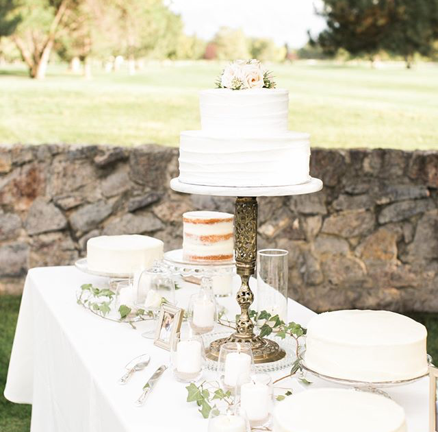 Wedding of    Tiffany Pliler    Product Used:  Single & Two Tier Wedding Cakes