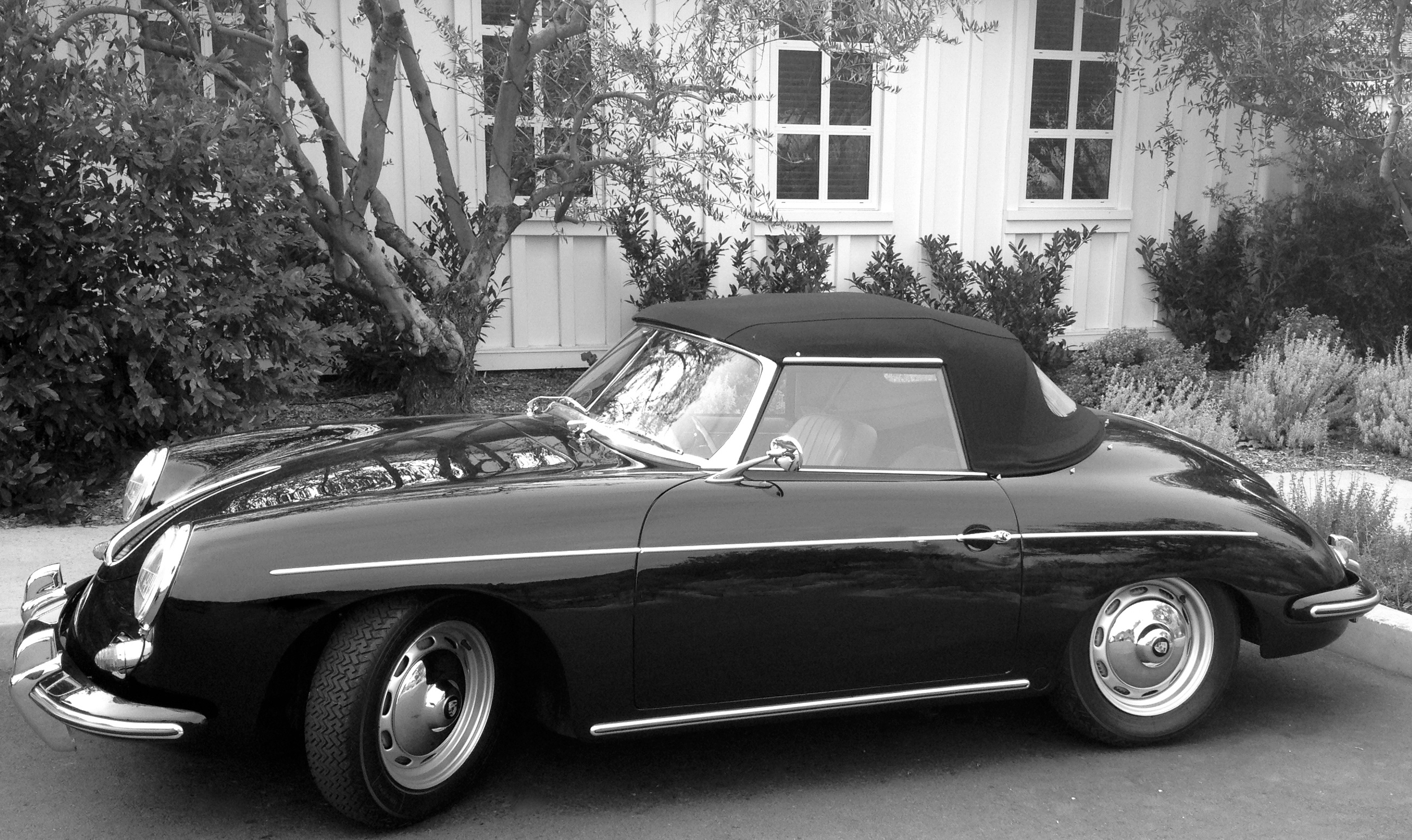 Vintage Porsche Original Photo Jackson Kline