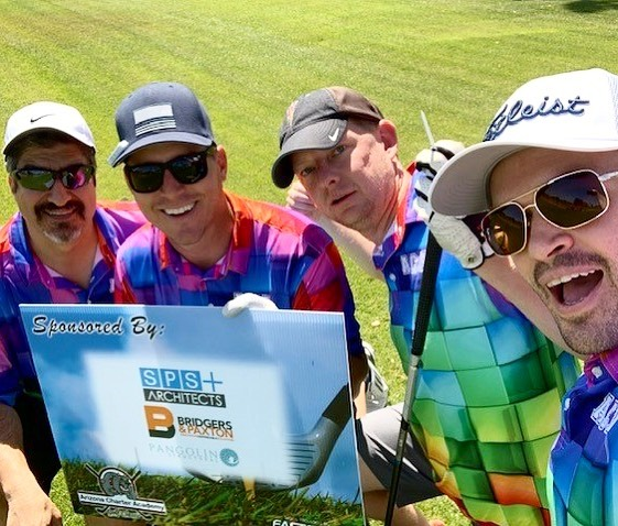 "We had so much fun last Friday at ACA's (Arizona Charter Academy) 7th Annual Golf Classic with @spsplusarchitects, Bridgers and Paxton, and Larson Engineering. We may not have had the best score that day, but a wise man once said ""as long as you look like you're good, only 3 people know the truth"" #lookgoodplaygood #golf #construction #forthekids #WIPW #WorkInProgressWednesday"