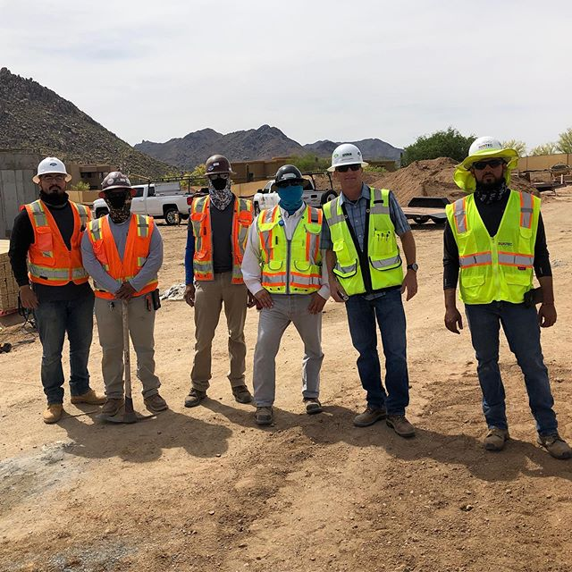 In honor of Construction Safety Week, we appreciate all special inspectors, including one of our own in house special inspectors Gabriel Campos, shown here along with @ryancompanies and @suntecconcrete at Acoya Scottsdale at Troon. They ensure all projects are not only built to code and project specifications, but are also a vital component to the safety of everyone on the job site.  #constructionsafetyweek #specialinspector #construction