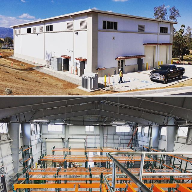 Check out our newly completed Naval Facilities Engineering Command (NAVFAC) Warehouse in high seismic California! Great work @arringtonwatkinsarchitects, @andersonburton_, and @dibbleengineering! #FinishedProjectFriday #FPF #design #construction #structuralengineering