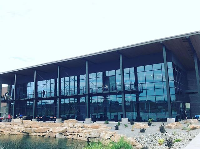 So happy we could celebrate last Friday with Mayfly Outdoors and the City of Montrose, CO, for the Grand Opening of the new headquarters and manufacturing center for Ross Reels and Able Reels. Patrick Hayes with the beautiful design - we always love when the architect creates form and function, such as the exposed cross braces, allowing us to showcase the structure!#FinishedProjectFriday #FPF