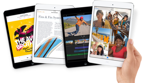 Apple iPad Mini Retina 2013 via Apple PR