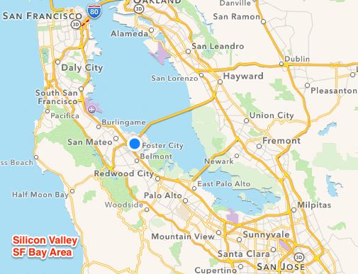 Silicon Valley Karte.Silicon Valley Strategic Partner Ross Ross International