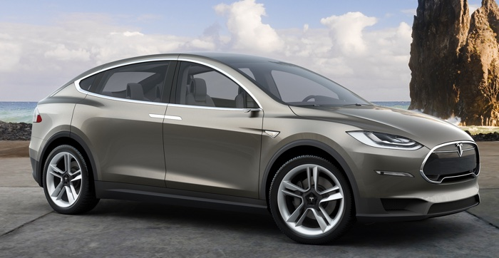 Photo Credit: Tesla Motors Model X SUV in 2016