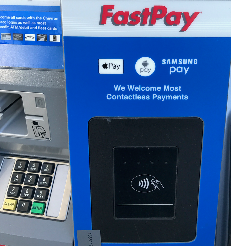 Chevron's new wireless gas station pumps accept Apple Pay, Android Pay, Samsung Pay, etc