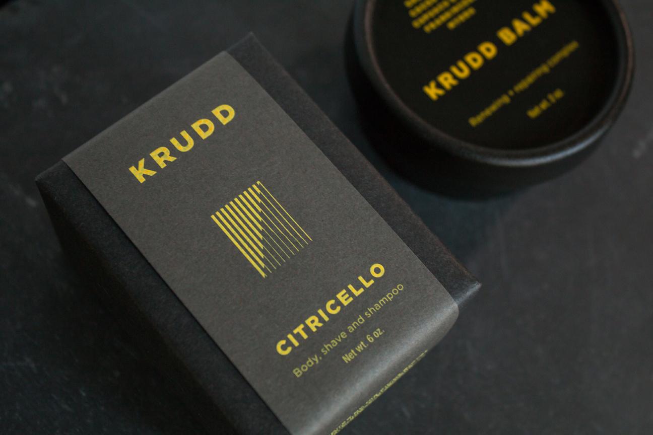KRUDD Citricello soap and KRUDD Balm