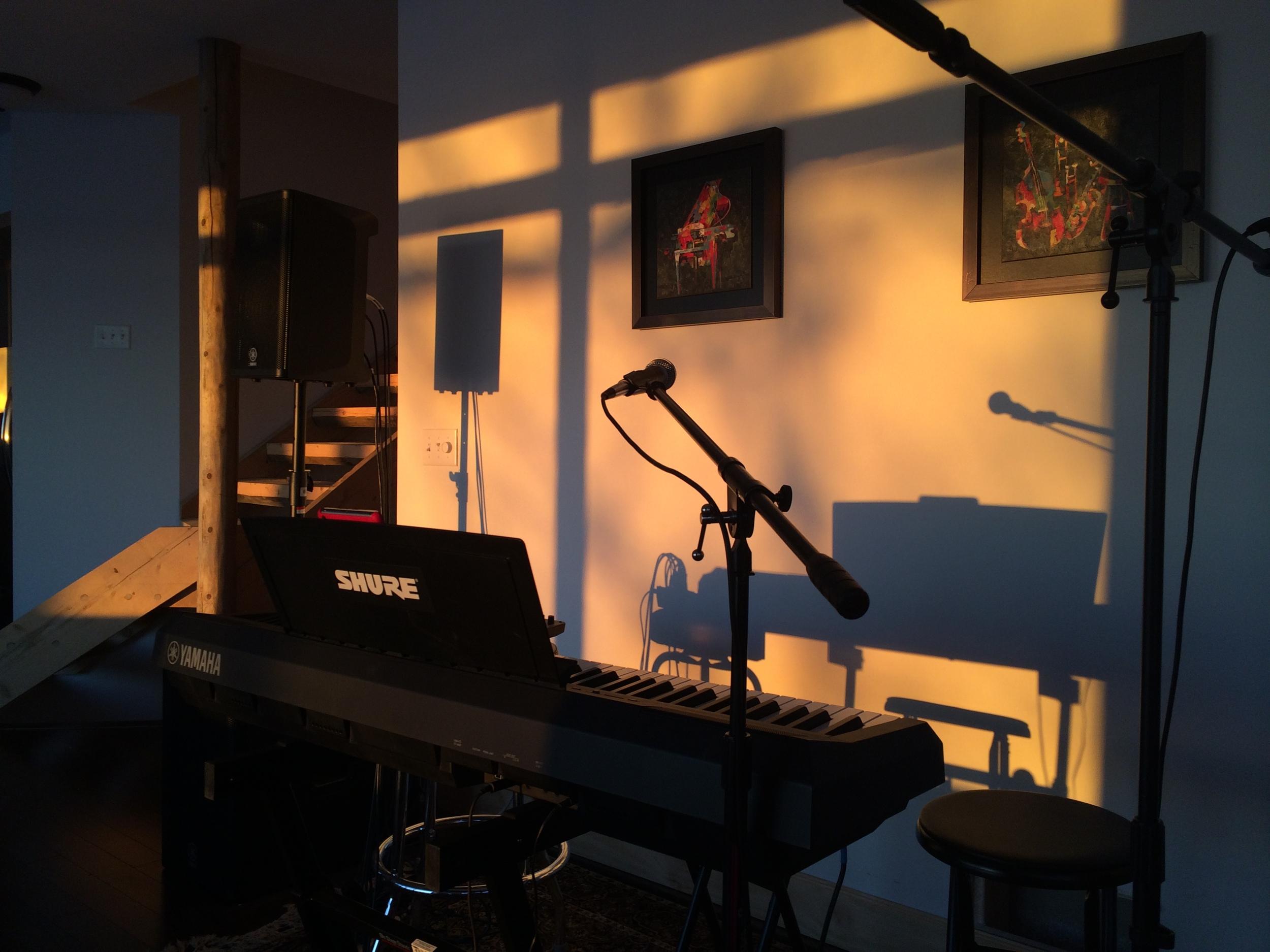 Daniel Alkato Lake Carlos Studio Practice Space
