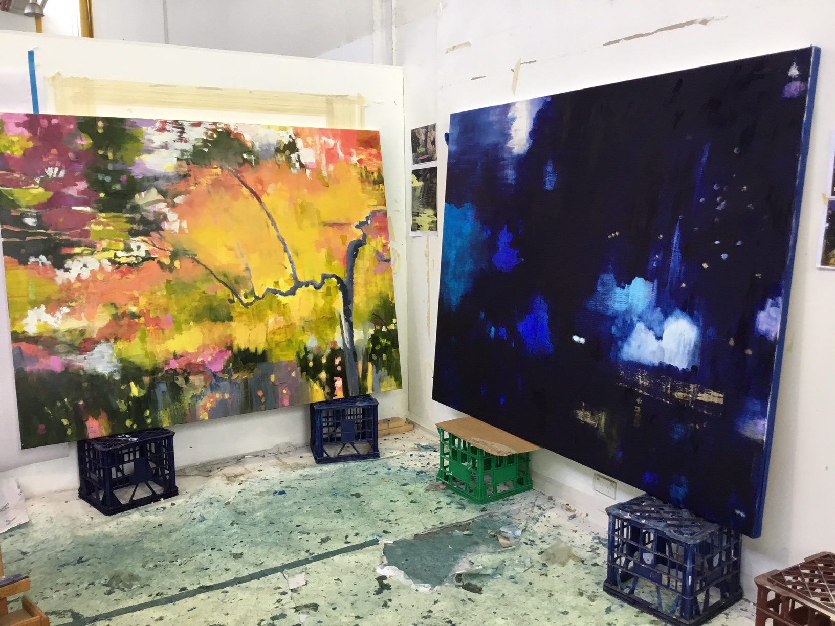 Suey McEnnallyThe Brightness of Day/ Wild Lights of Night3-25 February 2018 - Paintings and Drawings