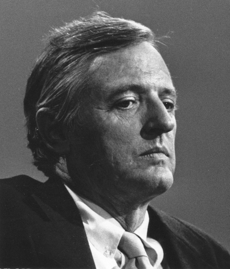 William F. Buckley Jr. Courtesy of WikiMedia Commons.