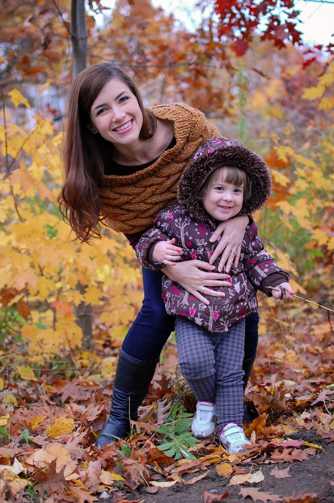 Julie Gray and daughter.