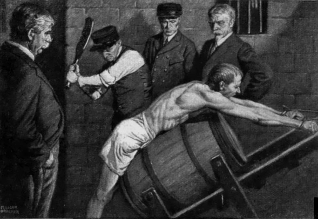 """Image credit: Julian Leavitt, """"The Man in the Cage,"""" 1912. Courtesy of Wikimedia Commons."""