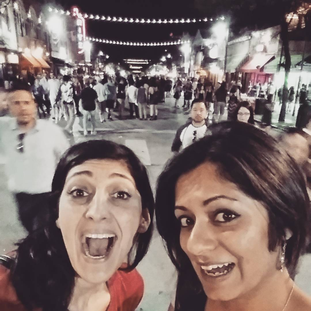 Zahra & Taz at #SXSW
