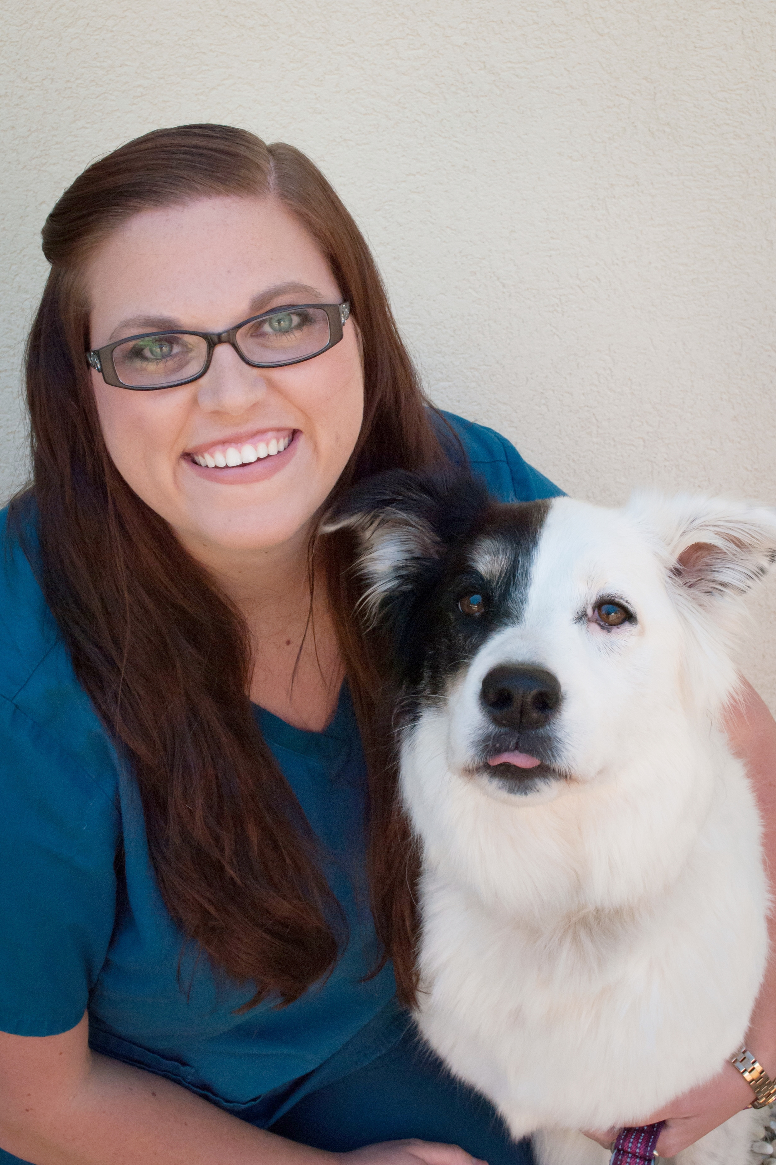 """Surgical Referral Coordinator, Peyton Lovell with """"Zoey""""   Contact Peyton"""