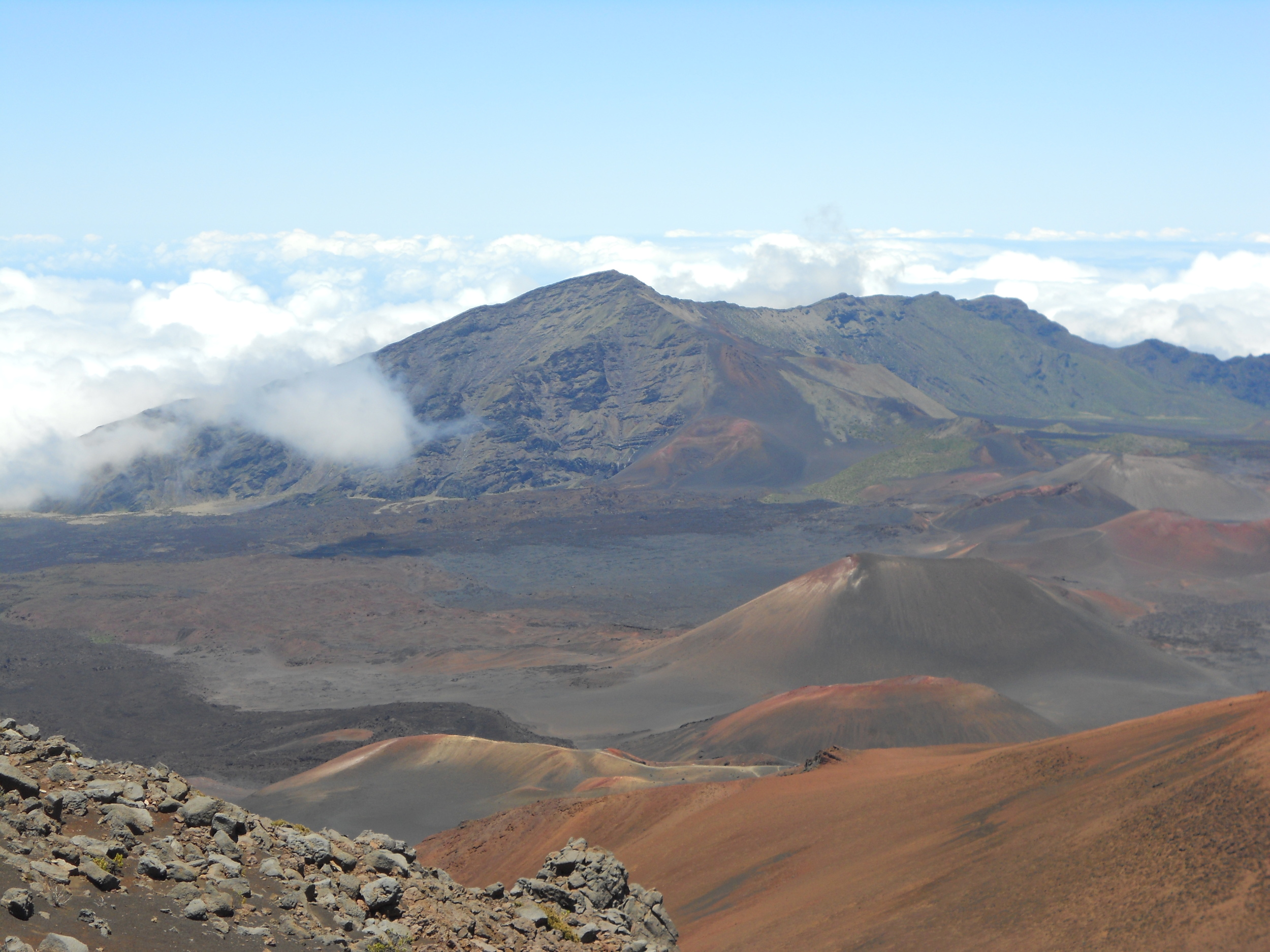This is Haleakala, in Maui. We're not in Maui, but I don't know what where we're going looks like yet, so this is what you get: one of my favorite places on Earth.