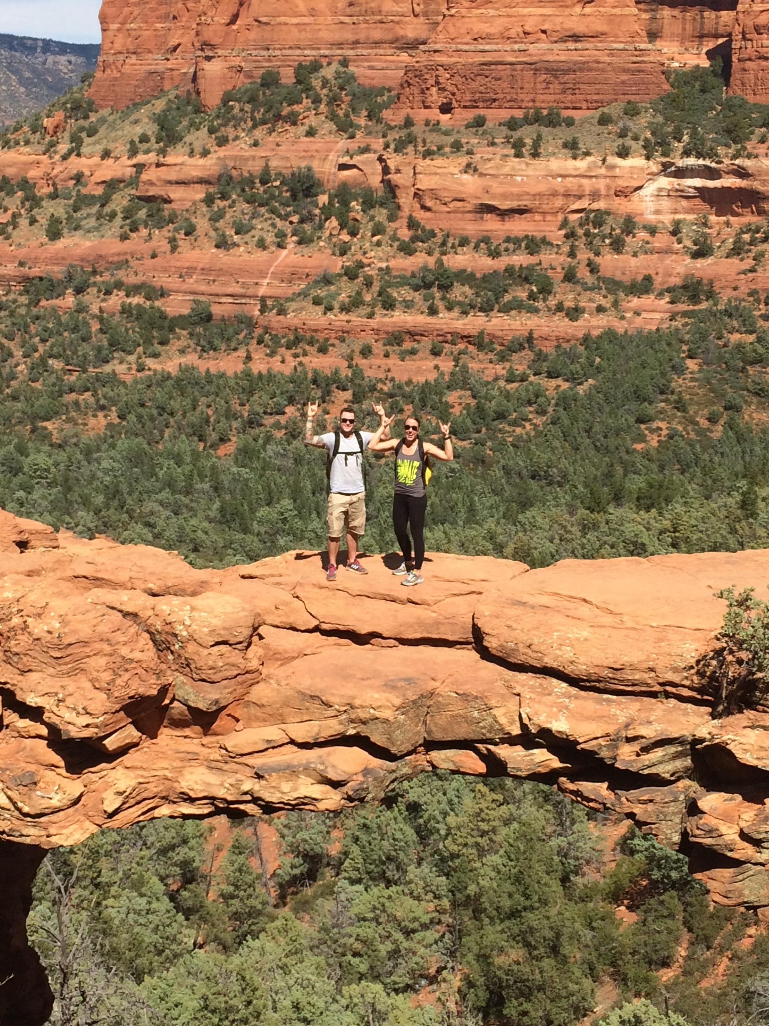 Killing a hike with my wife in Sedona, AZ