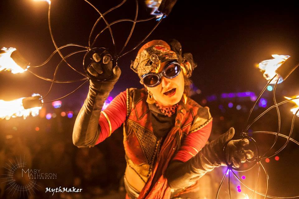Mythmaker  at  Burning Man  - Black Rock Desert, Nevada