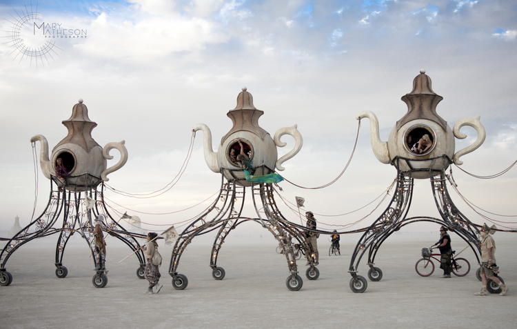 Burning Man  - Black Rock Desert, Nevada