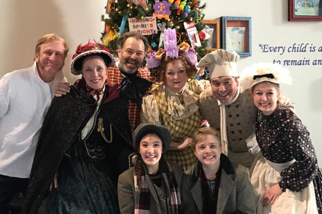 The cast of DCT's Magic Tree House at Children's Health