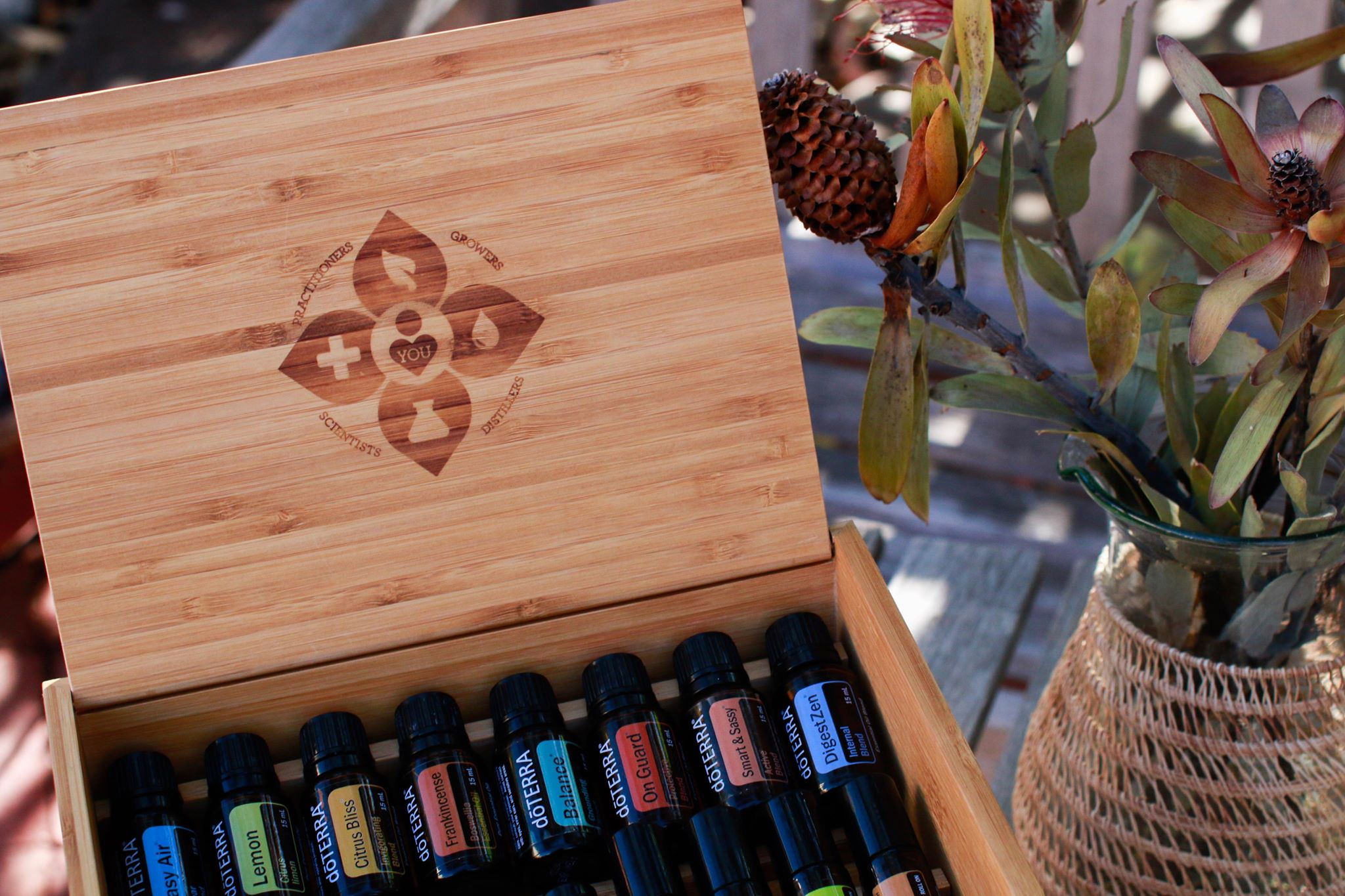 Curious About Oils? - Learn about the plant magic of Essential Oils with Balanced by Aquila on Facebook.
