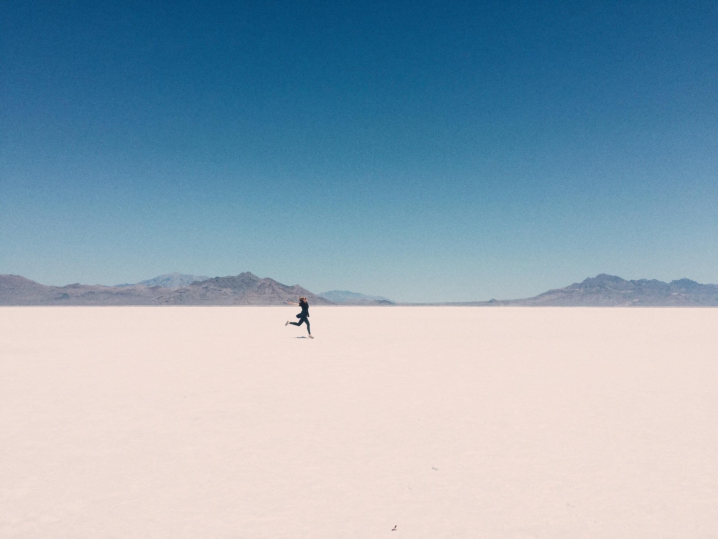 Salt Flats in Utah, July '15