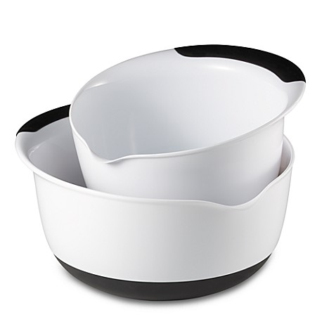 OXO Good Grips 1.5, 3, & 5 Quart Mixing Bowls - $8.99, $9.99, $10.99