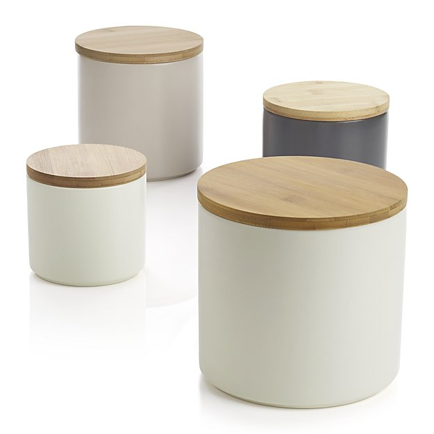 Set of 4 Silo Canisters - $49.95
