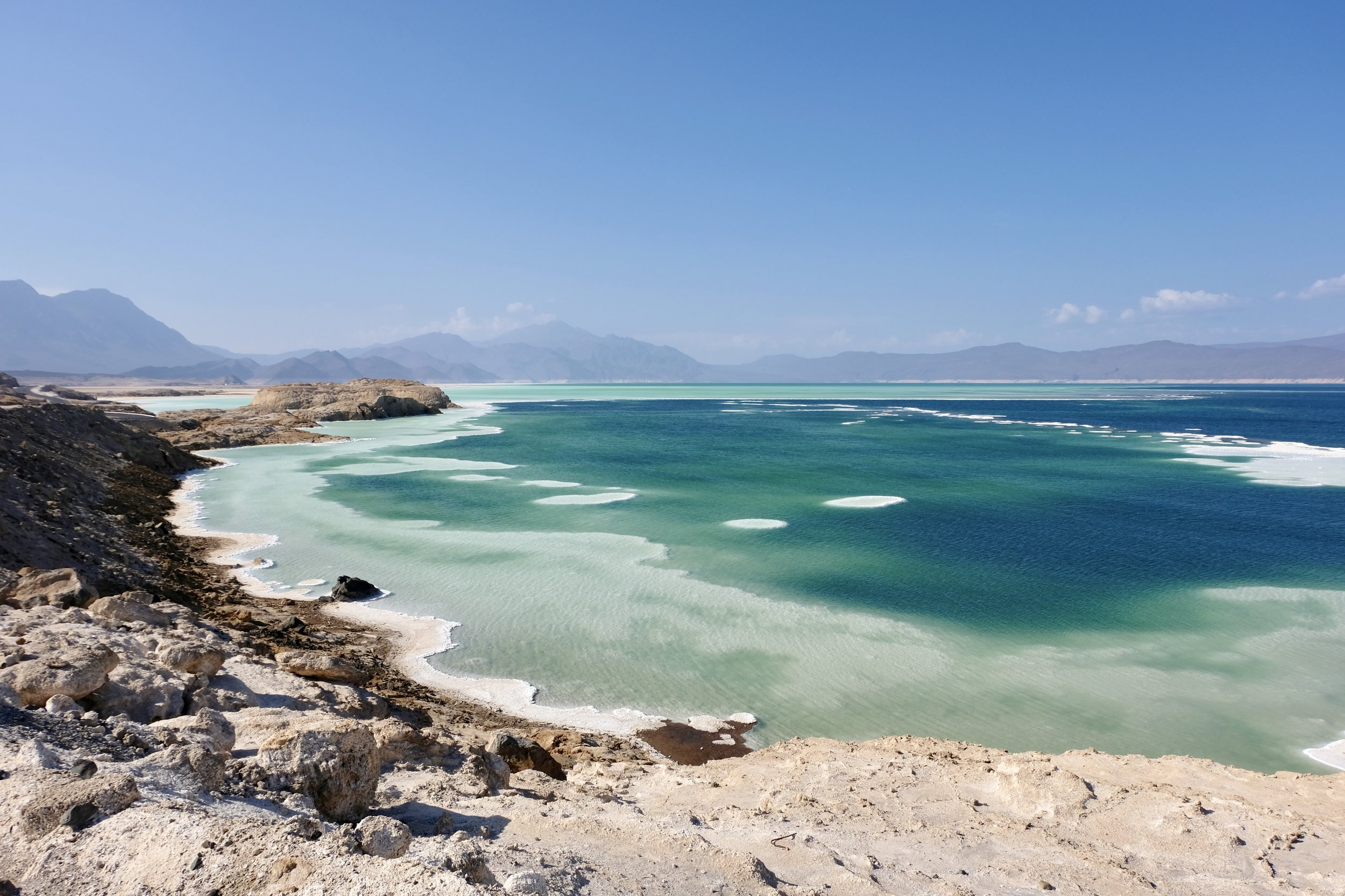 The Lowest Point in Africa