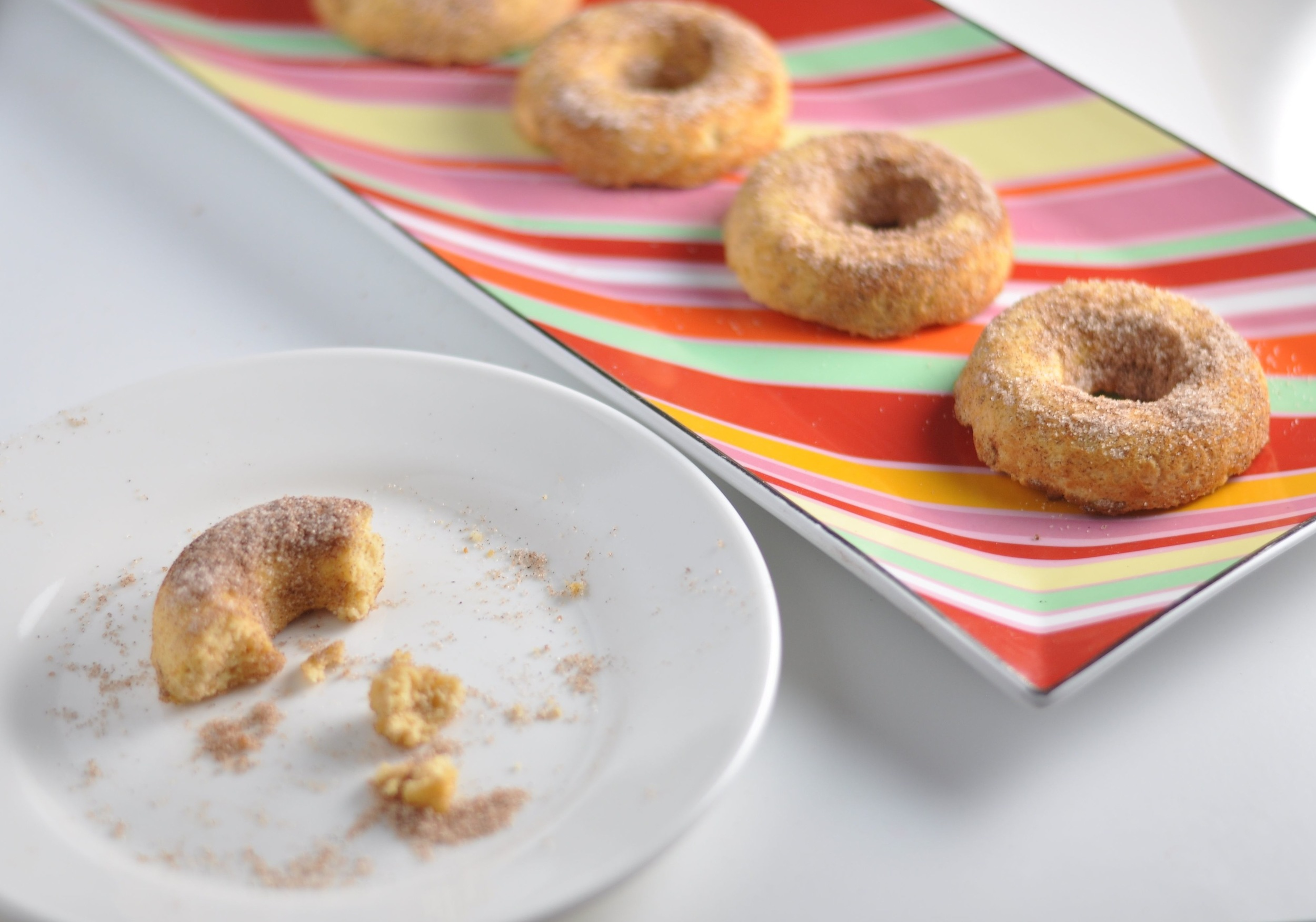 low carb cake donuts